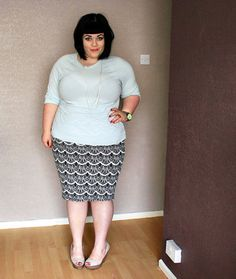 This outfit is sooo cute. #plus size #fatshion