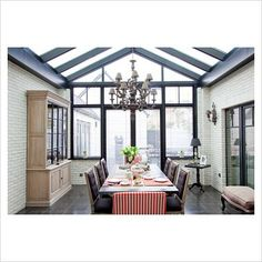 Modern Conservatory | GAP Interiors - Modern conservatory - Picture library specialising in ...