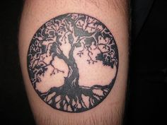 Beautiful tree of life tattoo