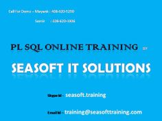 PL SQL ONLINE TRAINING. CHECK WEBSITE FOR MORE COURSES