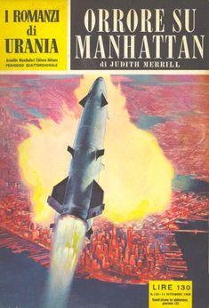 134  ORRORE SU MANHATTAN 13/9/1956  SHADOW ON THE EARTH  Copertina di  C. Caesar   JUDITH MERRILL