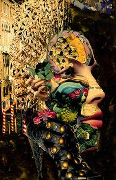 "Saatchi Art Artist CARMEN LUNA; Collage, ""78-Tesoros del COLLAGE."" #art http://www.saatchiart.com/art-collection/Collage/Tesoros-del-COLLAGE/71968/78776/view"