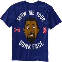 Under Armour DeAndre Jordan 'Show Me Your Dunk Face' Tee