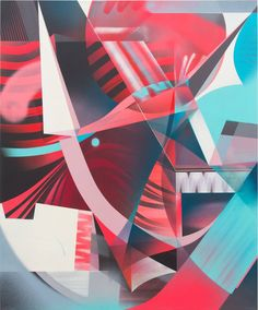 RAPHAEL BORER AND LUKAS OBERER - UNTITLED - ARTSTÜBLI  http://www.widewalls.ch/artwork/raphael-borer-and-lukas-oberer/untitled-47/ #painting