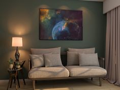 Zazzle Perfect Poster (Glossy Finish) version. Photo Bubbles, Office Walls, Online Gifts, Art World, Vivid Colors, Home Office, Celestial, Living Room, Prints
