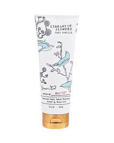 Library of Flowers True Vanilla Shower Gel, 8 oz.