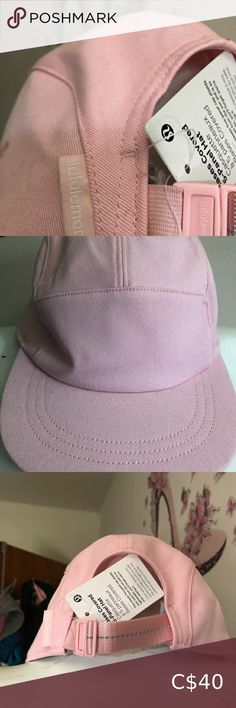 Lululemon 5 panel hat NWT. 5 panel hat. Light pink. s / m size X posted lululemon athletica Accessories Hats Warm Headbands, Black Runners, Plus Fashion, Fashion Tips, Fashion Design, Fashion Trends, 5 Panel Hat, Posh Party, Running Jacket