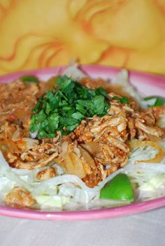 Tinga de Pollo  Authentic Mexican Recipe  This versatile mixture is a great way to use up leftover chicken. It's tasty on its own alongside rice, but also makes a terrific topping for tostadas or salads.
