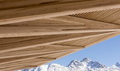 Foster + Partners breathes new life into the Kulm Eispavillon in St Moritz | Inhabitat - Green Design, Innovation, Architecture, Green Building