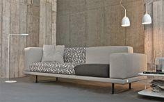 Divano componibile Under - Doimo salotti. Tantissime varianti per rendere unico il vostro divano. http://www.reitanoarredamenti.it/showroom