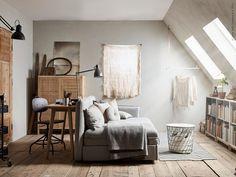 Natural small loft