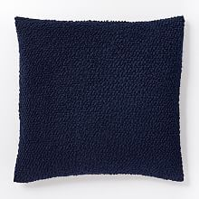 Cozy Boucle Pillow Cover - Nightshade
