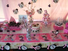 Bonnies Girly birthday party.