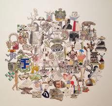 Elements: Line, color, shape Principles: Symmetrical balance, variety Estilo Resort, Pat Bo, Symmetrical Balance, Jr Art, Shape And Form, Color Shapes, Harpers Bazaar, Style Icons, Editorial Fashion