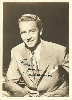 Vintage Autograph Brave Douglas Fairbanks Jr
