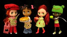 Blythe dolls by Suedehead on flickr