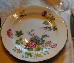 Victorian China Pattern Cuckoo by Wedgewood Williamsburg reproduction