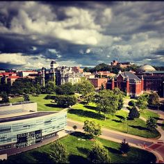 Syracuse University  = beautiful Can't believe Peter is going here in the fall. I can't wait to visit him