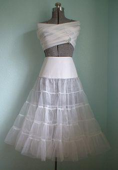 Crinoline Petticoat Sewing Pattern