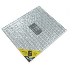 Smart Tiles 9.65 in. x 11.55 in. Peel and Stick Minimo Silver Mosaik (6-Pack)-SM1037-6 at The Home Depot
