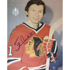 NHL Chicago Blackhawks Stan Mikita Autographed 8x10 Photograph