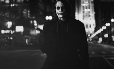 Heath Ledger as Joker Heath Joker, Joker Batman, Art Du Joker, Der Joker, Batman Quotes, Joker Quotes, The Dark Knight Trilogy, Batman The Dark Knight, Heath Ledger Joker