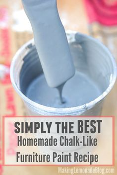 DIY Chalk Paint Recipe!