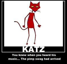 Katz from Courage the Cowardly Dog.