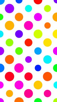 20 Colorful Polka Dot Wallpapers HD: Iphone, Android, Desktop