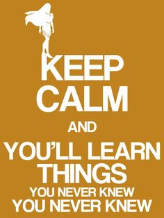 Keep Calm & You'll learn things you never knew you never knew - Pocahontas