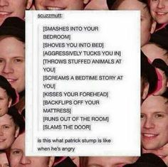Is this Patrick Stump xD