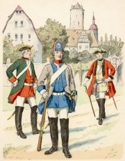 Saxon Army - Project Seven Years War