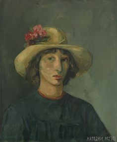 Ljubica Cuca Sokic - Self Portrait