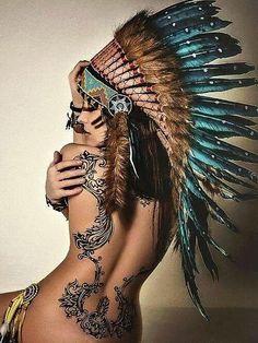 Love the headdress