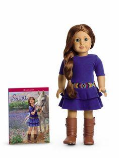 Saige Copeland (doll) - American Girl Dolls Wiki, SaigeDollFull.jpg