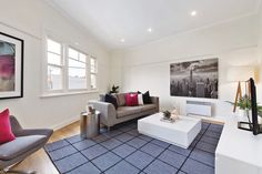 1/331 High Street Kew | In a fantastic position near Kew Junction this superbly renovated and generously proportioned 70 square metre (approx.) one bedroom apartment sits grandly above the shop fronts with private rear access. To view the statement of information for this property please visit our website link located in bio. . #marshallwhiteone #mwone #design #designinspo #decor #architecture #style #family #architecturelovers #love #home #interiordesign #interiorsinspo #interiorstyle…