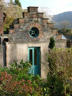 Irish garden Potting shed