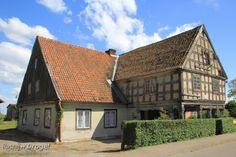 Zwiedzamy #Żuławy - #Bystrze - żuławski #dom podcieniowy Gmina #Miłoradz