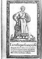 1567 - French Peasant -  Illustrations de Recueil de la diversité des habits qui sont de présent usage tant es pays dEurope, Asie, Afrique et isles sauvages