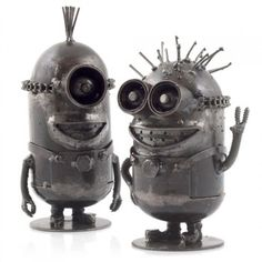Metal Art Minions | RED5 Gadget Shop