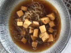 Miso polévka a tofu Dukan - Kuchyně Fanie