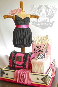 Artisan Cake Company Sculpted Cake Photo by ArtisanCakeCompany Gorgeous Cakes, Pretty Cakes, Amazing Cakes, Girly Cakes, Fancy Cakes, Unique Cakes, Creative Cakes, Creative Desserts, Creative Ideas