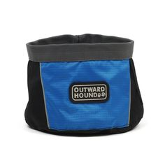 Kyjen OH2482 Outward Hound Port A Bowl Blue 48oz
