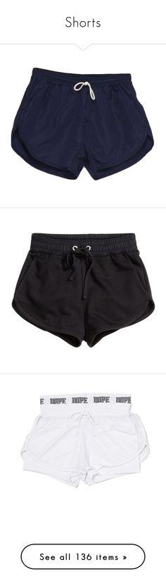 """Shorts"" by power-beauty ❤ liked on Polyvore featuring men's fashion, men's clothing, men's shorts, shorts, bottoms, pants, short, black, mini short shorts and short hot pants"