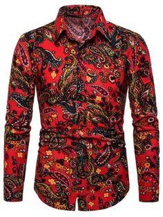 FLCH+YIGE Mens Slim Fit Shirt Plaid Checkered Long Sleeve Button Down Dress Shirts