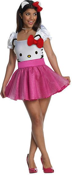 Fine Hello Kitty Sanrio Girls Tutu Halloween Skirt 4t Clothing, Shoes & Accessories