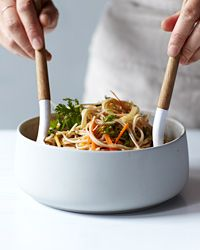 Spicy Soba Noodle Salad with Thai-Style Peanut Dressing Recipe on Food & Wine