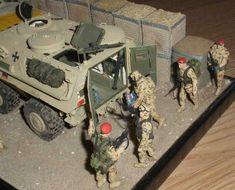 Maßstab 1:35 Transportpanzer Fuchs in Afghanistan - Militär nach 1945 - Das Wettringer Modellbauforum