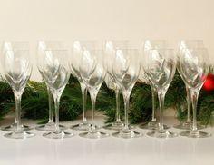 Baccarat Wine Glasses Two Sets of Six Signed #Baccarat #ArtsCraftsMissionStyle Corner Bar, Wine, Glasses, Ebay, Eyewear, Eyeglasses, Eye Glasses