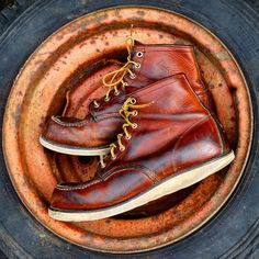 The Best Men's Shoes And Footwear : Important: we are not affiliated with Red Wing Shoe Co. -Read More – Red Wing Boots, Bottes Red Wing, Red Wing Heritage Boots, Red Wing Moc Toe, Red Wing 875, Best Shoes For Men, Men S Shoes, Handmade Leather Shoes, Mode Style